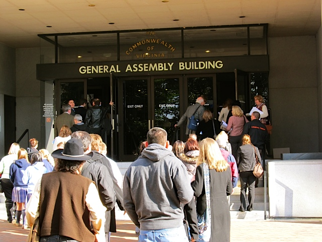 Heading into the Gen Assesmbly for Catholic Advocacy Day meetings