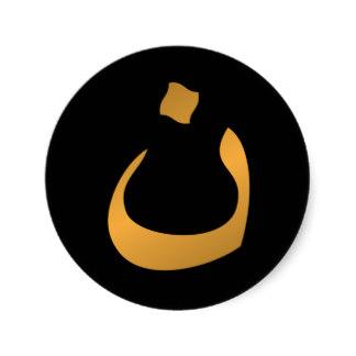 Arabic letter N
