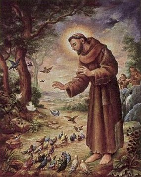 St. Francis of Assisi, patron Saint of the environment