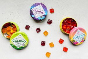 THC-infused gummies